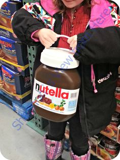 Huge Nutella Jar