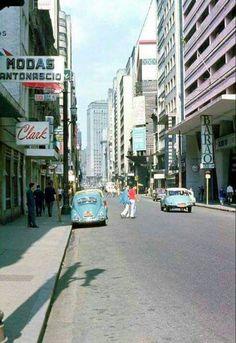 Rua Barão de Itapetininga - anos 60