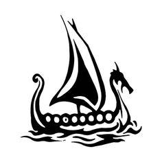 Viking Tattoo: The mysterious history of Nordic symbols – Norse Mythology-Vikings-Tattoo Viking Drawing, Art Viking, Viking Runes, Viking Knotwork, Viking Ship Tattoo, Norse Tattoo, Viking Tattoos, Inca Tattoo, Vikings Art