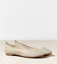 AEO studded ballet flat ae.com