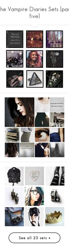 """The Vampire Diaries Sets [part five]"" by demiwitch-of-mischief ❤ liked on Polyvore featuring art, Leg Avenue, Wildfox, T.U.K., Dr. Martens, Converse, Effy Jewelry, Dorothy Perkins, Rosantica and Alex and Chloe"