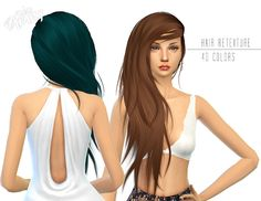 Retexture of Stealthic Vanity hair at Miss Paraply via Sims 4 Updates My Sims, Sims Cc, Emoji, Sims Hair, Sims 4 Game, Sims 4 Update, Sims 4 Cc Finds, Sims 4 Custom Content, Long Hair Styles
