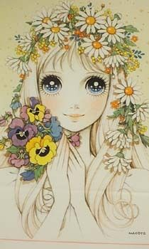 高橋 真琴 Takahashi Macoto - Flower ...[]... Themed Big-eyed Beauty