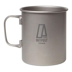 Much like the Big Gulp from 7eleven yet better since this one is made of Titanium and not paper. It holds a capacity up to 15.22 fl oz. and weighs in at 4.06 oz