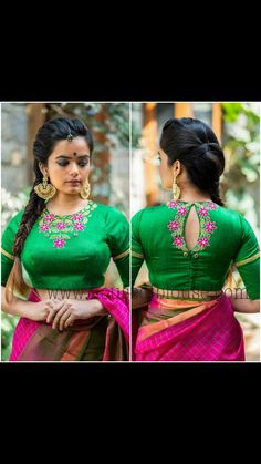 Black Blouse Designs, Blouse Designs High Neck, Simple Blouse Designs, Stylish Blouse Design, Pattu Saree Blouse Designs, Designer Blouse Patterns, Boat Neck, Work Blouse, Woman Clothing