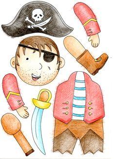Les pantins de pirate   Atelier Créatif