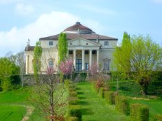 Spring in the Veneto, villa designed by Palladio