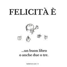 FELICITA' è un buon libro... o anche due o tre - lastlemon #happyness #books #libri #passione