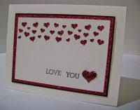 Image result for stampin up valentine cards Valentine Love Cards, Valentine Day Boxes, Valentine Heart, Wrapping Paper Crafts, Homemade Valentines, Stamping Up Cards, Heart Cards, Stampin Up, Card Ideas