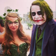 Poison Ivy and The Joker … WHY SO SERIOUS? | 28 Comic-Con Couples Who Totally Nailed This Cosplay Thing