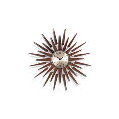Newgate Pluto Starburst Wall Clock (£112) found on Polyvore