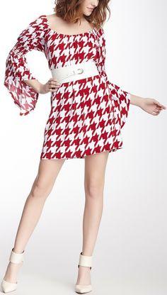 Ellie Bell Sleeve Dress. Just a little longer.