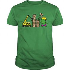 Awesome Tee Part Time Job Construction T-Shirts