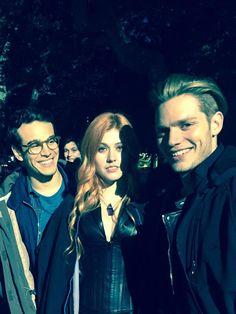 Simon, Clary and Jace #ShadowHunters