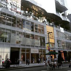 Kirarito Ginza shopping mall. #tokyoarchitecture #tokyowalk #streetscape #japantravel