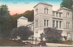 Berlin-Tegel, Schloß Tegel (Wohnsitz der Familie von Humboldt; umgebaut 1820–24 durch K.F.Schinkel).