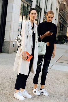 BS Trend | Kısa pantolon paçaları + kısa kazaklar + oversize paltolar √ Tüm markalar ve tüm trendler için --> www.Brand-Store.com  #trends #sokakstili #brandstore