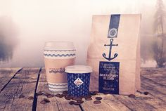 Anchor Bay Coffee Co. on Behance
