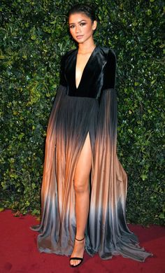 The Best Red Carpet Dresses of 2017 - Zendaya in Elie Saab Couture