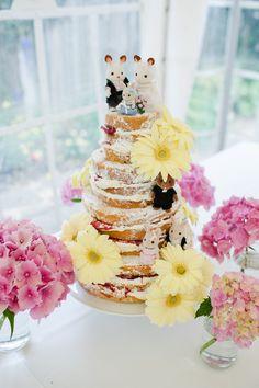 Sylvanian Families wedding cake
