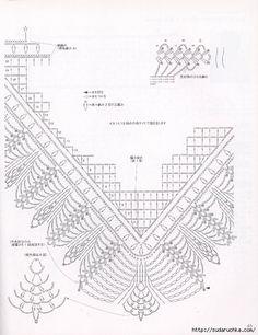 Seraya-Shal-vyazanie-kryuchkom-po-sxeme1 (608x563, 165Kb
