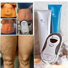 Get rid of your cellulite, wrinkles, and body blemishes! Nu Skin, Galvanic Body Spa, Anti Aging, S Spa, Beauty Care, Workout, Skin Care, Knowledge, Post Partum