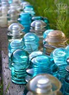 Old glass insulators...