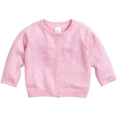 Fine-knit cardigan - from H&M (€3,46) ❤ liked on Polyvore featuring baby, kids, baby clothes, baby girl and baby stuff