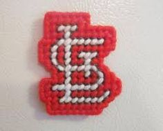 st. louis cardinal plastic canvas - Google Search