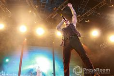 Foto Aksi Avenged Sevenfold Live in Jakarta 'Hail To The King' Asia Tour 2015 -> More Photos at www.pressroomid.com