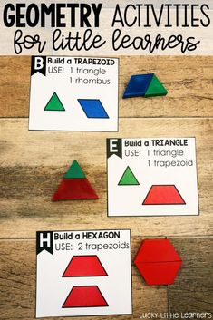 Composing and decomposing shapes is an important skill in 2nd grade. Take a look at how this teacher accomplishes this in her classroom. She also shares other fun and engaging geometry activities and geometry freebies!