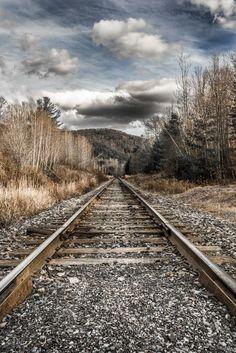Beauty in all things. Rousseau, Manon, Train Tracks, Railroad Tracks, Explore, Beauty, Paths, Beauty Illustration, Exploring
