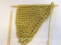 DROPS Knitting Tutorial: How to make increases and decreases (Drops no. 155-11)