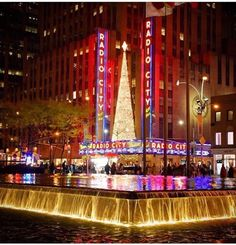 Christmas at the radio city music hall~♡