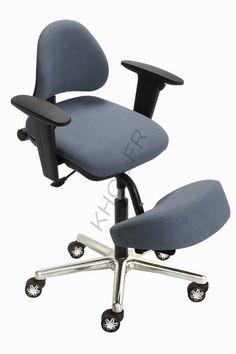 Siege assis genoux khol