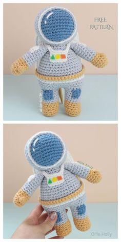 Crochet Pattern Free, Doll Amigurumi Free Pattern, Crochet Patterns Amigurumi, Cute Crochet, Amigurumi Doll, Crochet Crafts, Crochet Baby, Crochet Projects, Crochet Top
