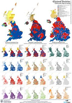 Electoral Doctrine: Thirty-nine maps of voting