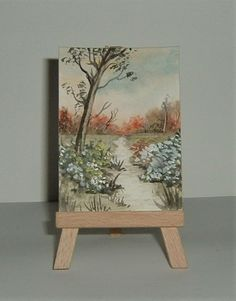 aceo art painting (ref 210) £3.50
