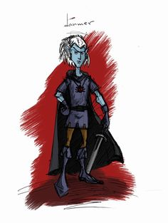 Funny drow by graywindru on DeviantArt