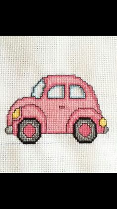 This Pin was discovered by S. Cross Stitch Floss, Mini Cross Stitch, Cross Stitch Patterns, Wool Embroidery, Hand Embroidery Patterns, Cross Stitch Embroidery, Crochet Car, Tapestry Crochet, Cross Stitching