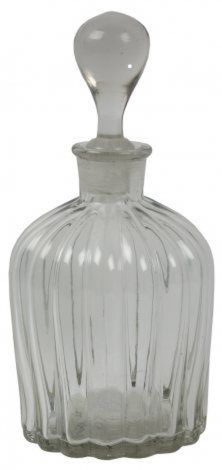 Clear Glass Carafe