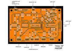 "korg ms 20 clone - E.A.S. ""miss10"" HADSR PCB"