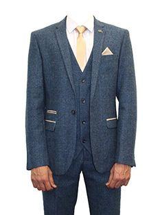 vintage blue 3 piece suits - Google Search