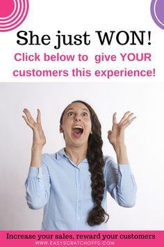 Learn how to increase your sales and reward your customers with scratch off cards. We offer personalized scratch off cards to create your own custom scratch off games. Appreciation Thank You, Customer Appreciation, Scratch Off Cards, Reward Yourself, Off Game, 31 Gifts, Increase Sales, Direct Sales, Growing Your Business