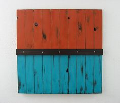 Rustic Reclaimed Wood Art by ModernRusticArt on Etsy, $350.00