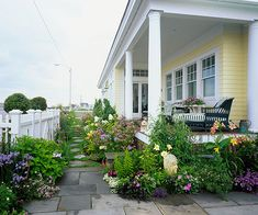 Incorporate a Porch- this would be a great addition to the front and side of my house! Love the idea!