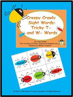 Classroom Freebies: Sight Word Game