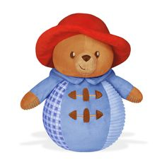 Paddington Chime Ball for Baby London Paddington Station, Paddington Bear, Stuffed Toys Patterns, Motor Skills, Gingham, Musicals, Infant, Body Movement, Plush
