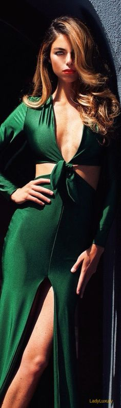 Lurelly Emerald Gown | House of Beccaria~