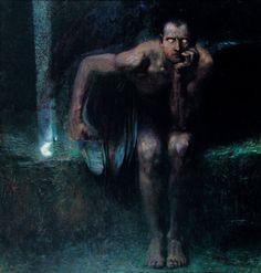 Franz Von Stuck - Lucifer . Domitor Invictus